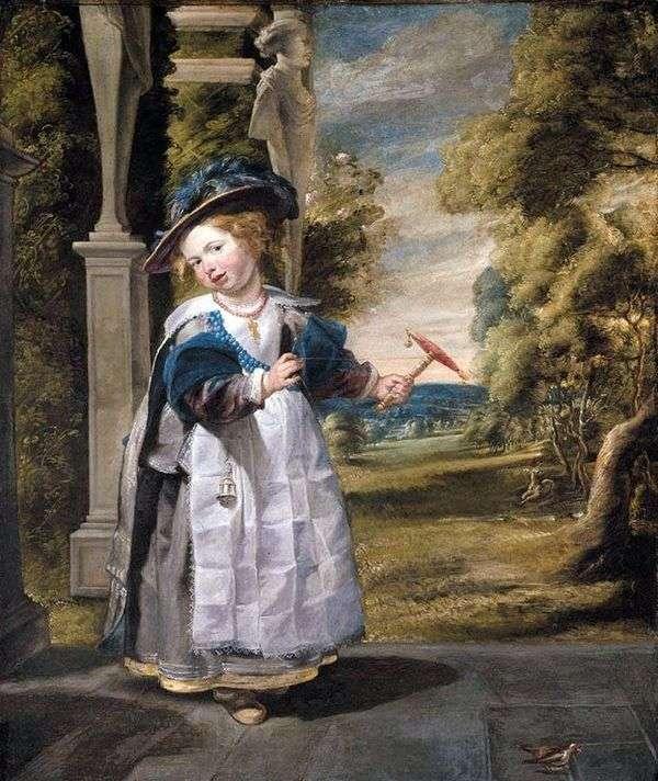 艺术家女儿的肖像   Jacob Jordaens