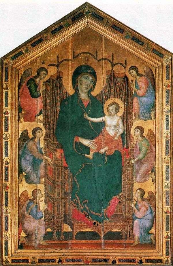 Madonna Rucellai   Duccio di Buoninsegna