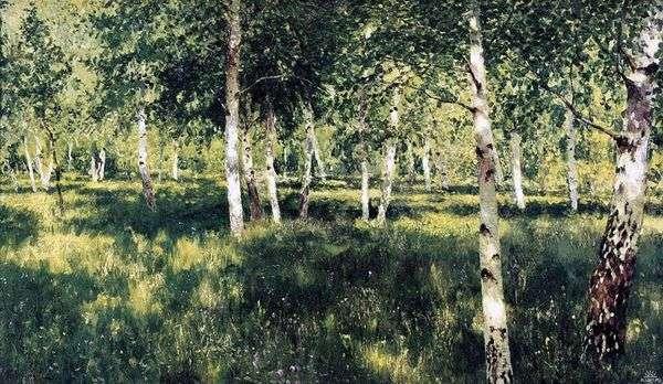 Birch Grove   Isaac Levitan