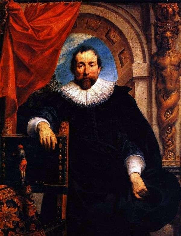 Rutger Le Wheeter的肖像   Jacob Jordaens