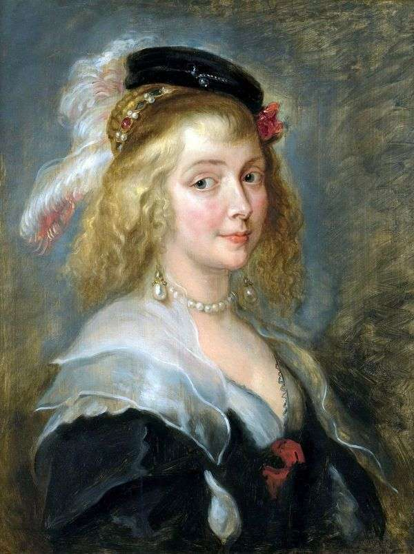 肖像艾琳娜弗曼   彼得鲁本斯