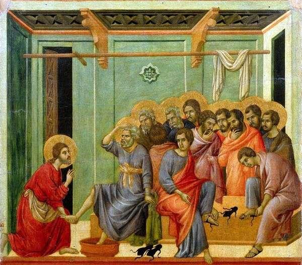 洗脚   Duccio di Buoninsegna