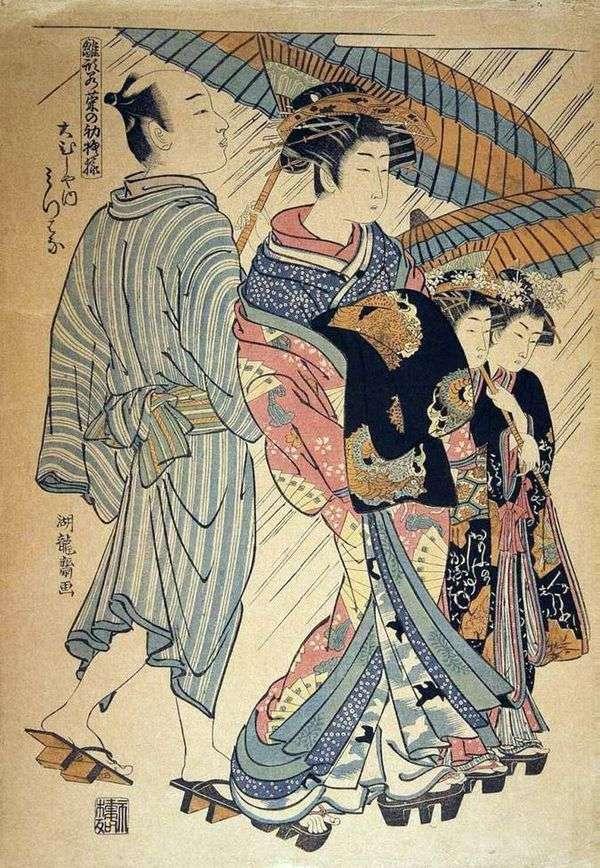 来自Omusia茶馆的Mitsuya   Isoda Korusai