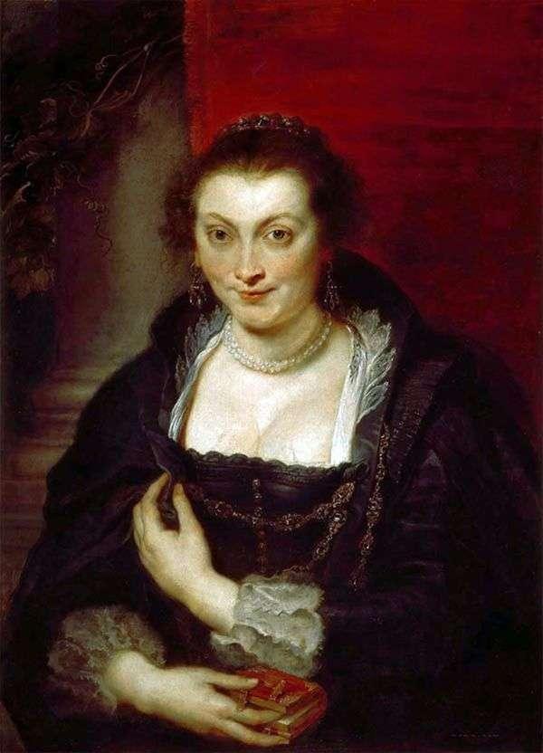 伊莎贝拉布兰特肖像   彼得鲁本斯