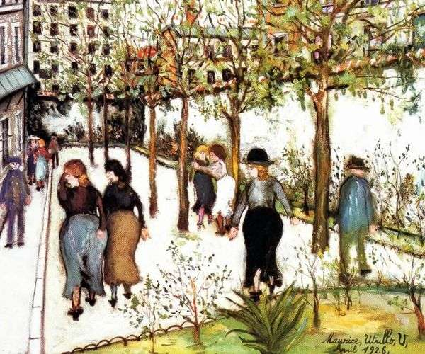 Ville的房子   Maurice Utrillo