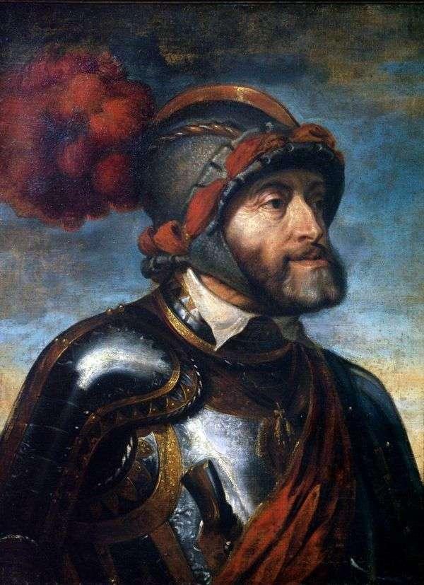 皇帝查理五世的肖像   彼得鲁本斯