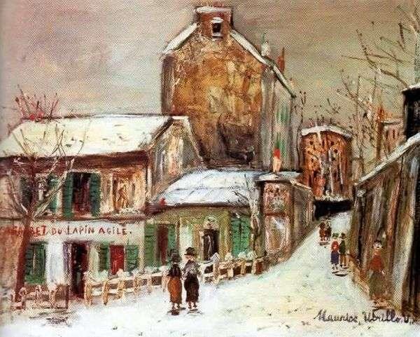 CafeFrisky Rabbit   Maurice Utrillo