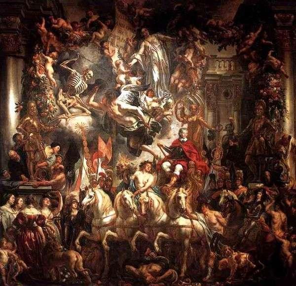 奥兰治的弗里德里希 海因里希王子的胜利   雅各布乔丹斯