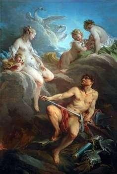 金星和瓦肯人用埃涅阿斯的武器   弗朗索瓦 布歇