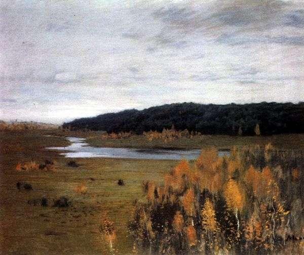 河谷   艾萨克列维坦