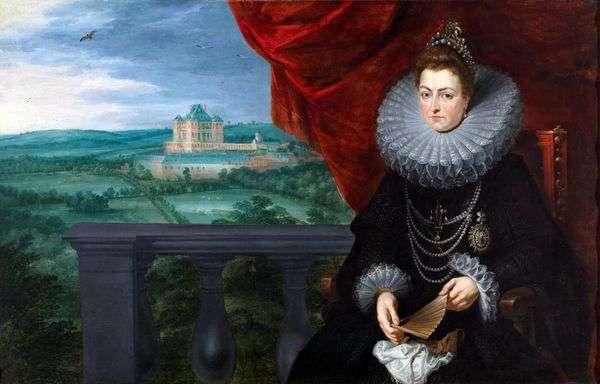 Infanta Isabel Clara Eugenio   Peter Rubens的肖像
