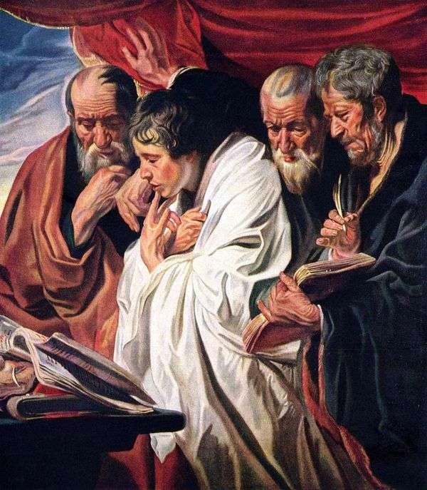 四位福音传教士   雅各布乔达恩斯