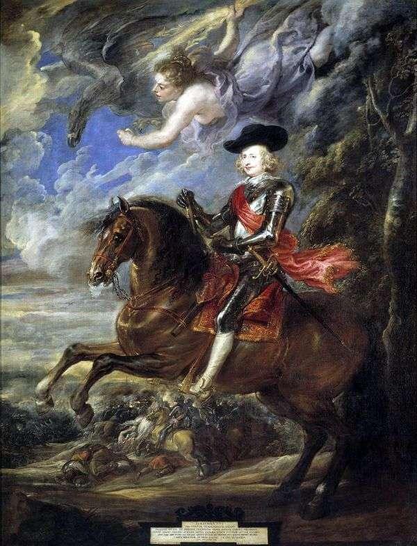 红衣主教费丹德   彼得鲁本斯的肖像