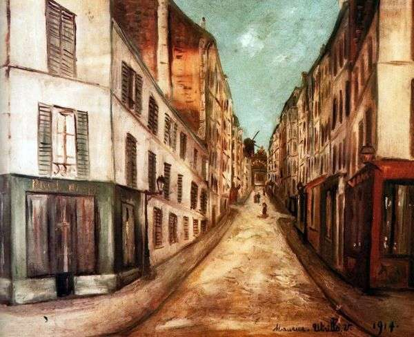 巴黎街   莫里斯尤特里洛