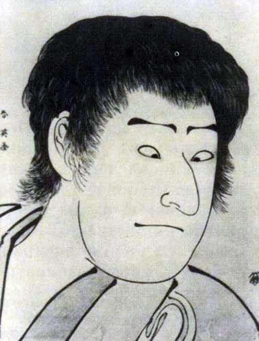 演员Sawamura Sozyuro III   Katsukawa Syunse的画像