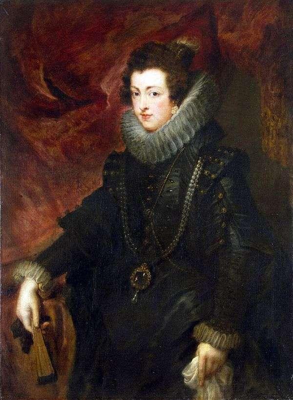 女王伊丽莎白的肖像   彼得鲁本斯