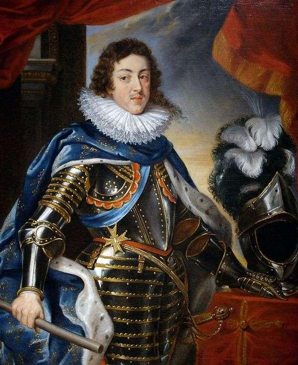 路易十三的肖像,法国国王   彼得鲁本斯