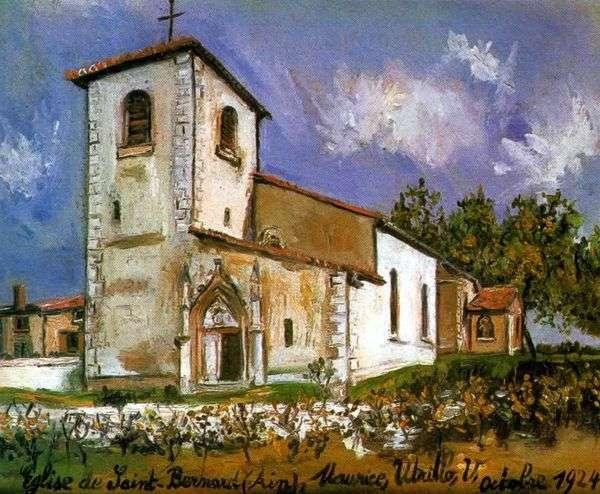 圣伯纳德教堂   莫里斯Utrillo