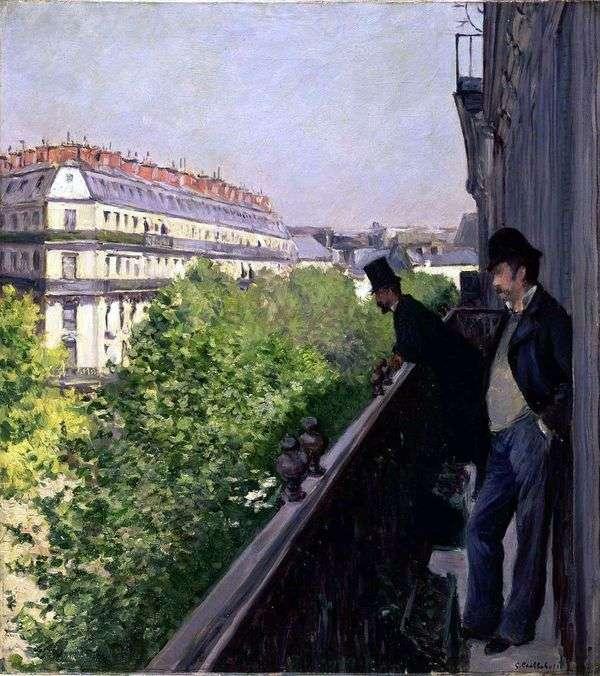 阳台   Gustave Cybott