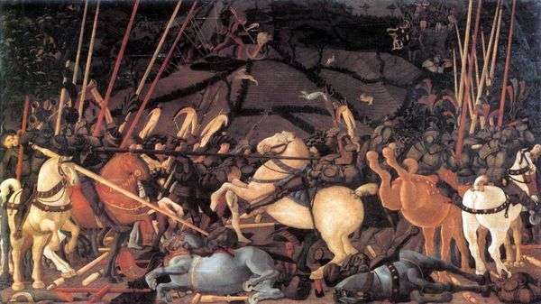 圣罗马诺之战   Paolo Uccello