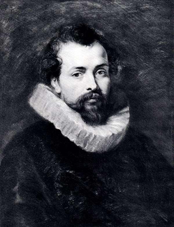菲利普鲁本斯的肖像   彼得鲁本斯