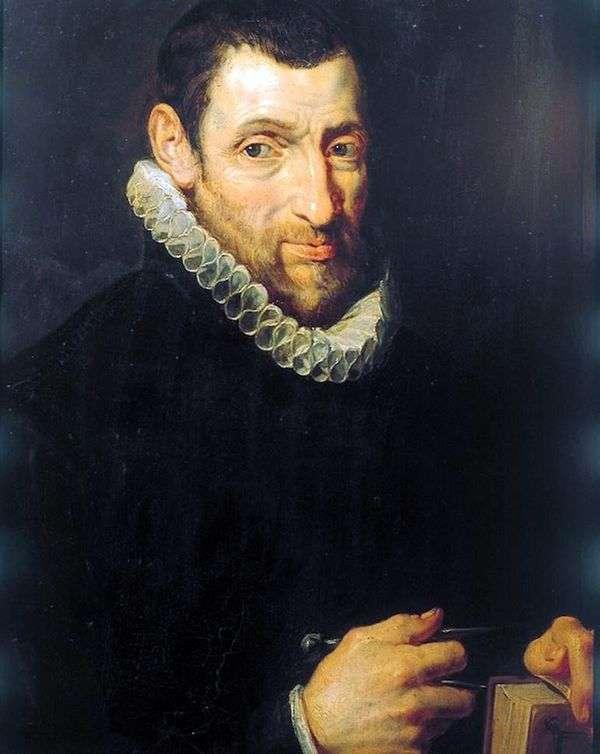 Christoffel Plantin(ChristoffelРlantin)的肖像   彼得鲁本斯