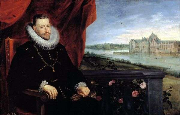 阿尔伯特大公的肖像   彼得鲁本斯