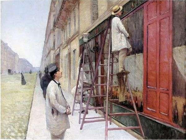 门面画家   Gustave Caibotte