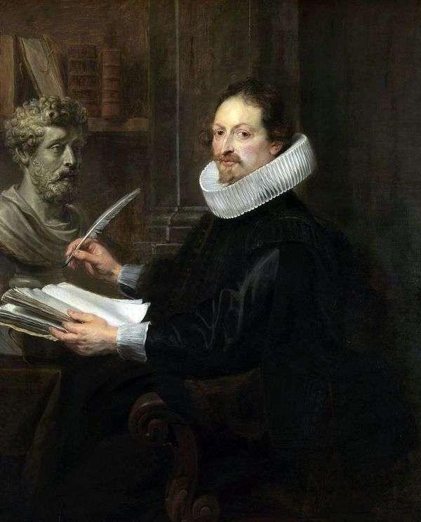Jan Gaspar Gevarts的肖像   彼得鲁本斯