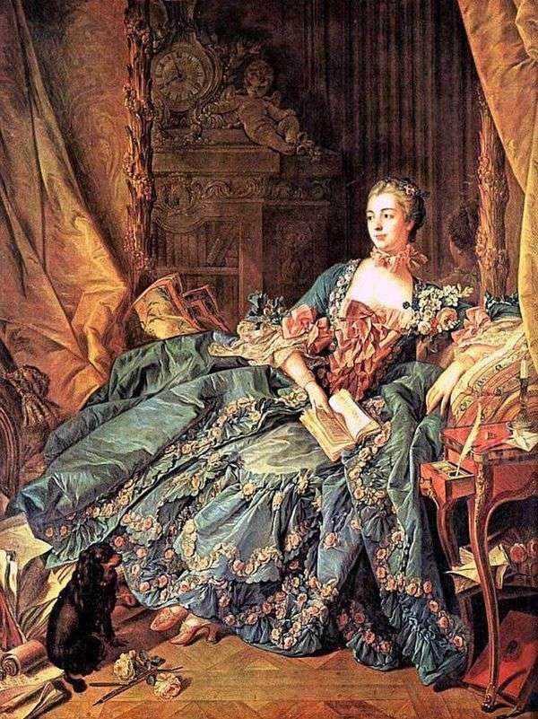 Marquise de Pompadour   Francois Boucher