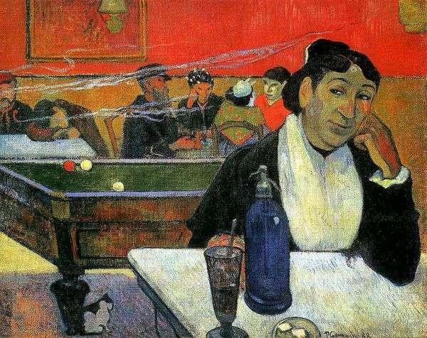 夜咖啡馆,阿尔勒(阿尔勒的夜咖啡馆)   保罗高更