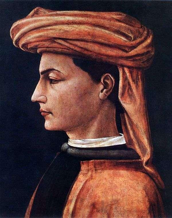 一个年轻人的画象   Paolo Uccello