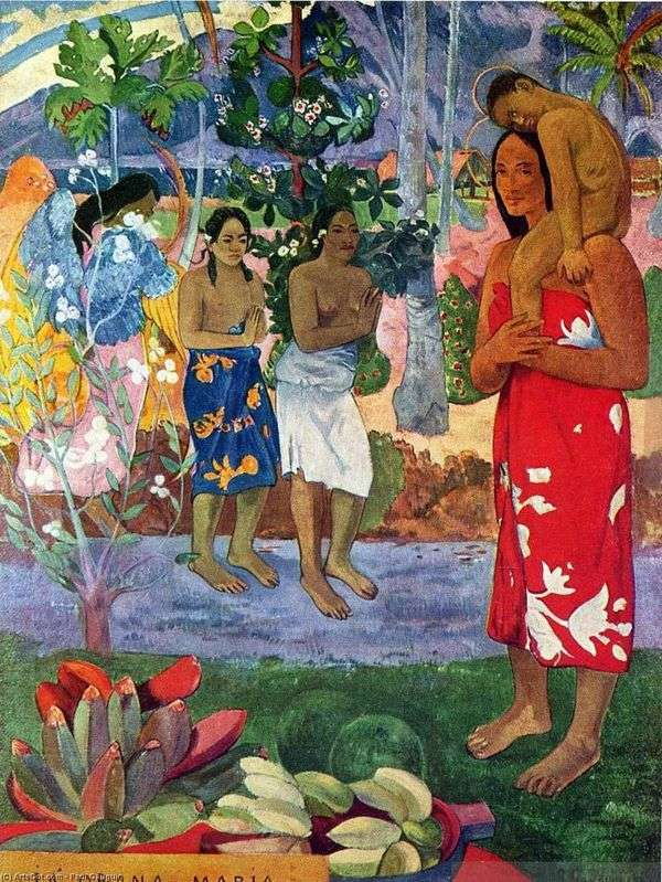 Oran Maria(我们欢迎你,Maria)   Paul Gauguin