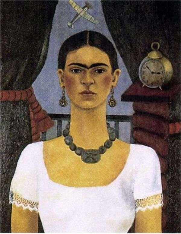 自画像。时光飞逝   Kalo Frida