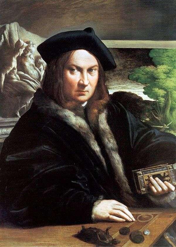 一个人的画象   弗朗切斯科Parmigianino