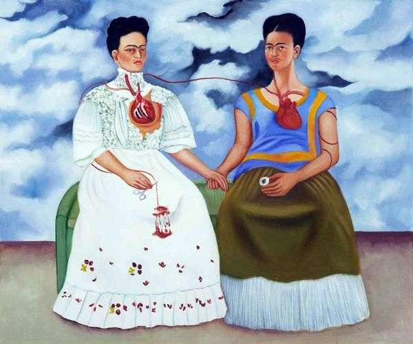 两个Fridas   Frida Kahlo