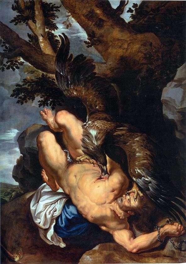 普罗米修斯被束缚   彼得鲁本斯
