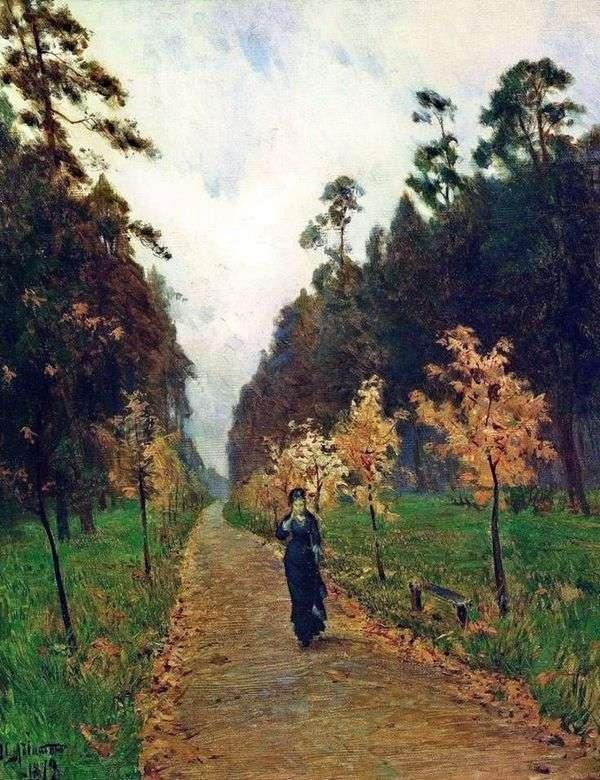 秋天的一天在索科尔尼基   艾萨克列维坦