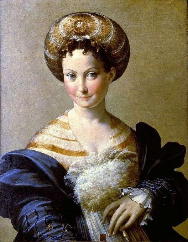 土耳其奴隶   Francesco Parmigianino