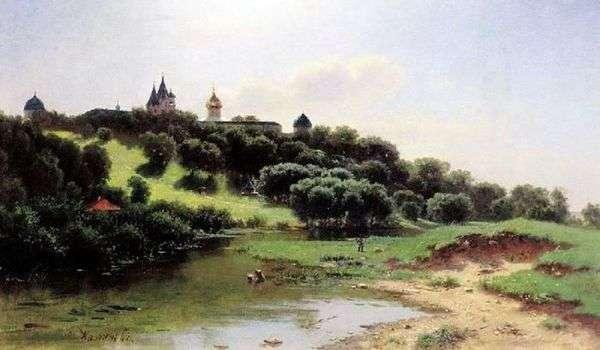 在Zvenigorod附近的Savvino Storozhevsky修道院   列夫Lvovich Kamenev
