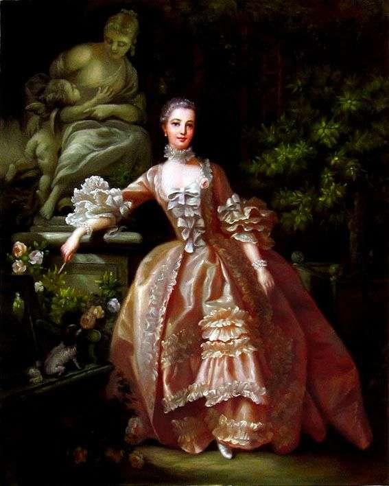 蓬巴杜夫人的肖像   弗朗索瓦 布歇
