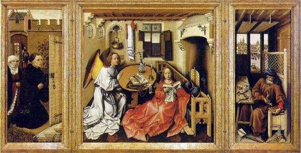 天使报喜(Altar Merode)   Robert Kampen