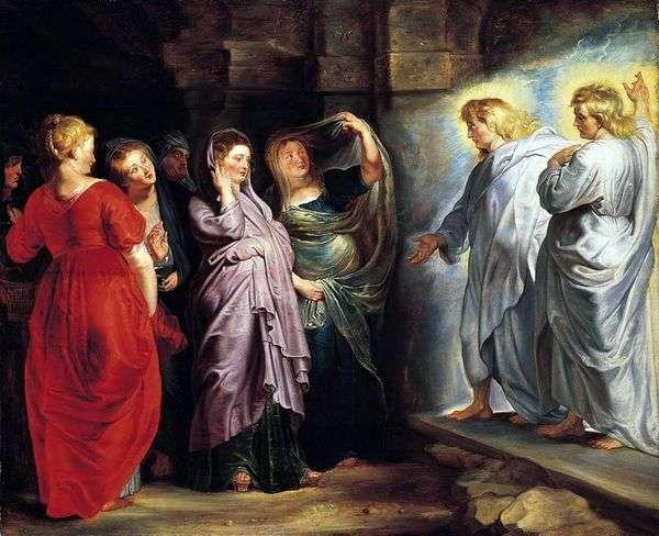 圣洁的女人在基督的坟墓   彼得鲁本斯