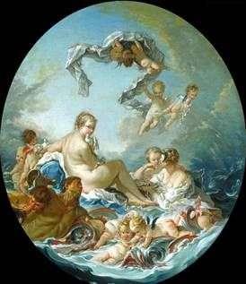 金星女神的胜利   弗朗索瓦 布歇