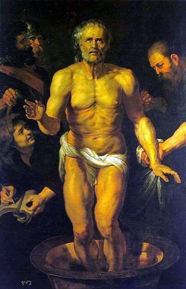 塞内卡之死   彼得鲁本斯