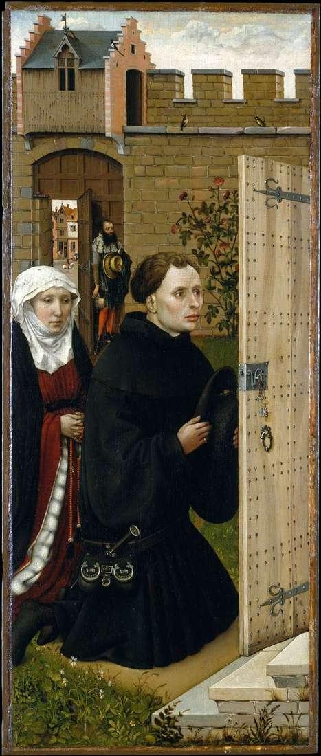 Triptych merode。左翼   罗伯特坎彭