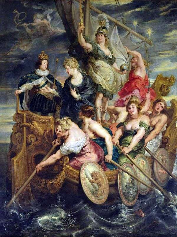 路易十三的节日   彼得鲁本斯