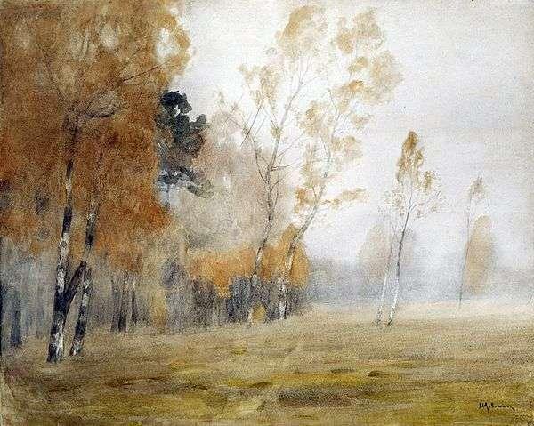 雾。秋天   艾萨克列维坦