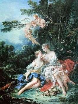 木星和木卫四   弗朗索瓦鲍彻