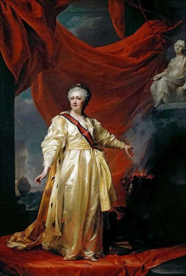 凯瑟琳二世   在正义女神殿堂的立法者   德米特里 列维茨基